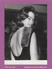 PHOTO DE PRESSE 1960, SHIRLEY ANNE FIELD, ACTRICE ANGLAISE -Q271