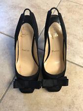 Christian Louboutin Size 35 Black Heels