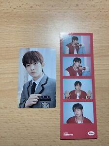 Heeseung Enhypen Ggu Ggu Package Uniform Photocard & Photo Strip Set