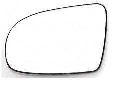 Spiegelglas Außenspiegel Links Heizbar Flach Chrom OPEL CORSA B 93-00