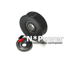 6PK STEEL IDLER PULLEY FOR HSV XU6 9.1998-10.2000 3.8L V6 VT Supercharged L67