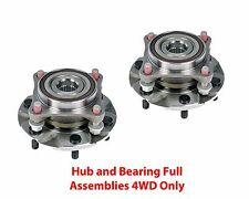 2 New DTA Front Wheel Hub and Bearing Full Assemblies Fits 4WD Tacoma Only