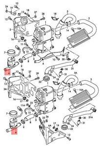 Genuine AUDI A4 allroad quattro Avant S4 A4L Additional Coolant Pump 8K0965561