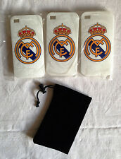 BELLE COQUE DU CLUB  REAL MADRID POUR IPHONE 4/4g/4s  + 1 ETUI OFFERT!