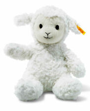 Steiff 073410 Soft Cuddly Friends Fuzzy The Lamb White