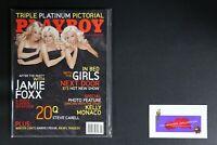 💎PLAYBOY MAGAZINE NOV 2005 RAQUEL GIBSON KELLY MONACO KENDRA JAMIE FOXX I💎