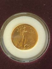 2002 P AMERICAN GOLD EAGLE $5 1/10 OUNCE