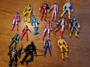 Mighty Morphin Power Rangers Figures bundle