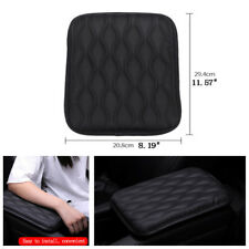 1X Black Car Leather Armrest Pad Cover Center Console Box Cushion Wear-Resistant(Fits : Whippet)
