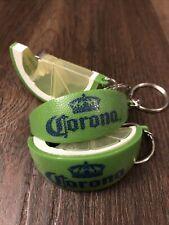 Corona Lime Wedge Beer Advertising Promo Metal Key Chain & Bottle Opener New