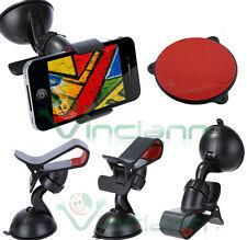 Supporto auto VETRO + CRUSCOTTO iPhone SE 5 5S 5C 4S 4 3GS 3G ant vibrazioni X3T