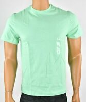 Club Room Mens Green T-shirt New S M L XL Short Sleeves Crew Neck Cotton Summer