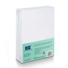 Anti Allergy Terry Cotton 100 Waterproof Mattress Protector Fitted Sheet Sample Fabric to Cehck Quality 20x20cm