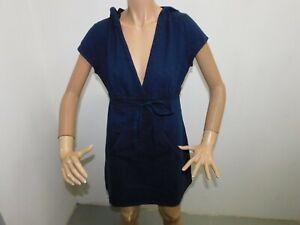 Vestitino Tommy Hilfiger donna Taglia M Abito Lungo woman Dress veste Cotone Blu