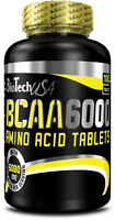 Biotech USA BCAA 6000 - 2:1:1 Ratio Isoleucine, Leucine and Valine Amino Acid