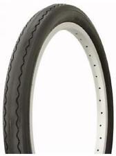 "2X DURO 20"" BMX Dragster Bike Tyre -  20"" x 2.125"" - Black-  Slick Retro Vintage"