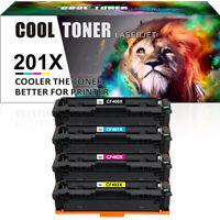 4PK Compatible for HP CF400X 201X Toner Color LaserJet Pro M252n MFP M277n