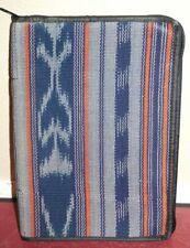 Scripture Case Bible Book Cover Orange Blue Pattern