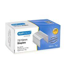 Rapesco 73/10MM RESISTENTE graffette per hd-73 pinze & RAPIDA HD31 BOX 2,000