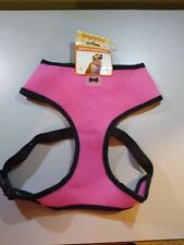 Simply Dog XL Pink Mesh T Strap Body Harness Adjustable With D Ring 35 to 55 lb