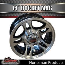 14X5.5 Rocket Alloy Mag Wheel suit Ford Trailer Caravan Jetski Boat  Trailer