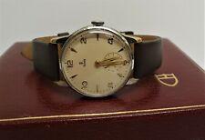 vintage gents 35mm Tudor Rolex wrist watch manual wind gwo c1950s w original box