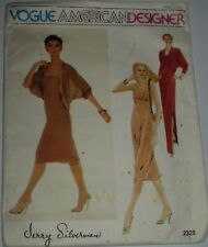 """VOGUE""  'AMERICAN DESIGNERS""JERRY SILVERMAN PATTERN 2328 size 14  (#PT-2)"