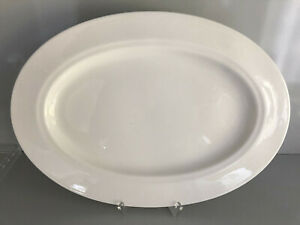 Hutschenreuther BALLERINE Weiß rund PLATTE oval  35 cm ungenutzt Plate