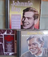 Johnnie Ray- 16 Most requested Songs/ The Best of- 2 CDs + Bonus-CD- Lesen!