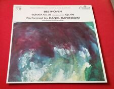 PCLS 11026 Stereo LP Beethoven Sonata No. 29 Barenboim Pye Command Classics 1965