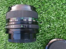 Canon FD 35mm F2.8 Lens in Excellent Condition