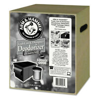 Arm & Hammer Trash Can & Dumpster Deodorizer, Unscented, Powder, 30 Lb  33200000