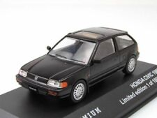 Nice 1/43 Honda Civic Coupe 1987 Black Triple9 Premium Purmerand NL
