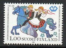 FINLAND MNH 1981 The 100th Anniversary of the Youth Leagues