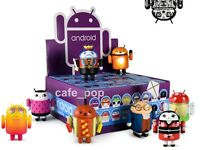 "ANDROID MINI COLLECTIBLE: 3"" VINYL ART FIGURE robot mascot SERIES 6 kaws dunny"