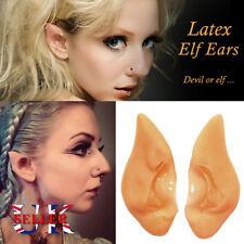 Pixie Elf Ears Fairy Vulcan Pointed Tips Alien Cosplay Christmas Costume Xmas UK