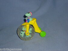 PINKY & The BRAIN ANIMANIACS Roll-Along BICYCLE TOY VTG Burger King MEAL TOY
