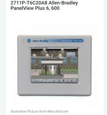 "Allen-Bradley 2711P-T6C20A8 PanelView Plus 600 6"" Graphic Terminal Ac power inpu"