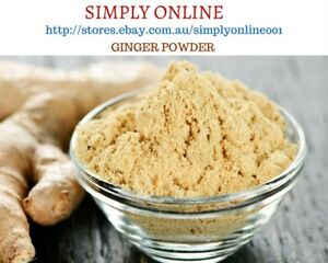 BULK 1 KG Ginger Powder - Herbs Spices - Premium Grade - FREE POSTAGE