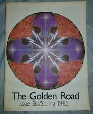 Grateful Dead The Golden Road Magazine 1985 Spring Issue 6 Stanley Mouse Art