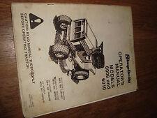 """Simplicity Models 6008 6010 10 HP 8 HP 36"""" 42"""" Operators Manual Lawn Mower"""
