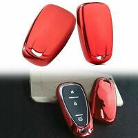 Paint Metallic Color Cover fit for CHEVROLET Malibu Volt Smart Remote Key RD