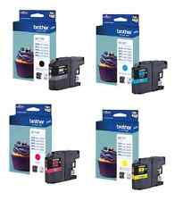 NEW Genuine Brother 4 pack Ink Cartridge LC123 Printer J4110DW J4410DW J4510DW