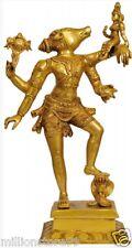 """Lord Varaha Avatar of Vishnu GOD Hindu Idol 17"""" Brass Figure Statue India 6.4 KG"""