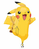 Pikachu  Pokemon Luftballons xxl Folienballon Geburtstag Helium Party