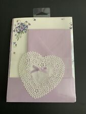 Vintage American Greetings Violets Letter Set new sealed 32 decorated sheets