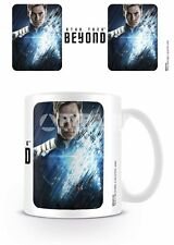 MUG CUP STAR TREK BEYOND CAPTAIN KIRK 2016 OFFICIAL 11OZ BOXED NEW CERAMIC
