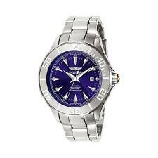 Invicta Men's Signature Automatic 200m Blue Dial Stainless Steel Watch 7035