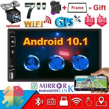 """2G + 32G Android 10.1 7"""" Car Stereo GPS Navigation Radio Player Double 2Din WIFI"""