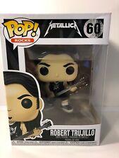 Funko Pop Rocks: Metallica - Robert Trujillo Vinyl Figure Item #13809